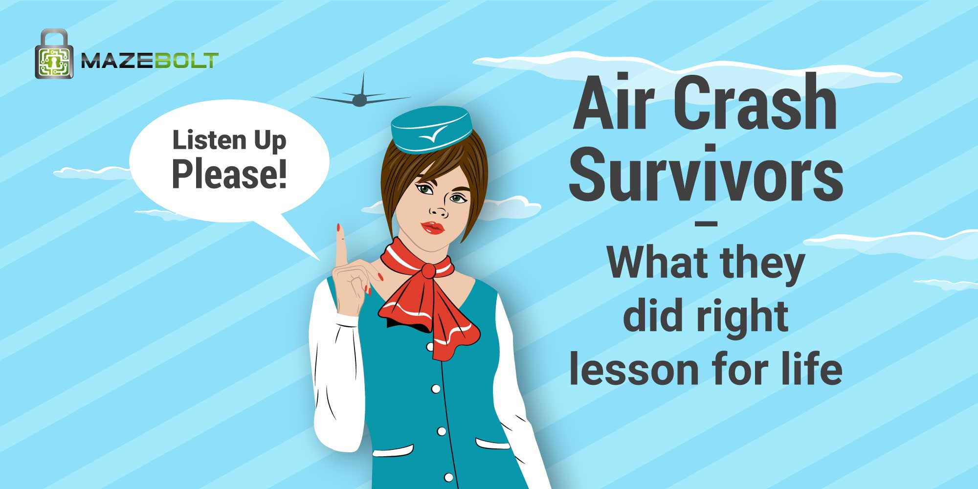 Air Crash Survivors Lessons for Life and DDoS