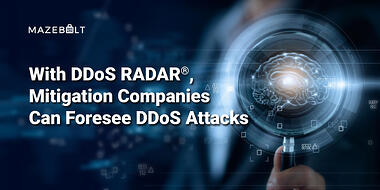 Mitigation Companies can foresee DDoS attacks