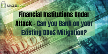 DDoS mitigation for banks